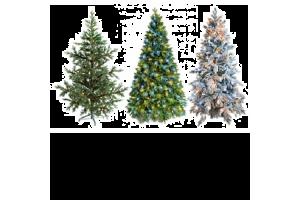 Елки и новогодние украшения