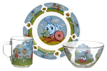 Детские столовые наборы посуды