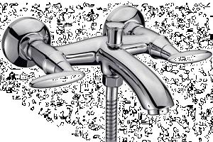 Смесители для ванной двурычажные (22)