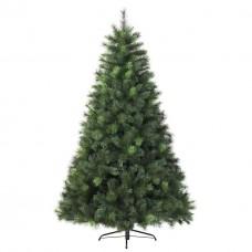 Ель Классическая ПВХ 1м, елка новогодняя с подставкой.