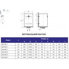 Водонагреватель Arti WHV 100L/1 2000Вт