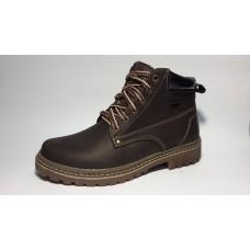 Зимние ботинки Timberland коричневого цвета