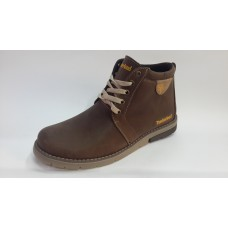 Зимние ботинки Timberland на меху коричневого цвета. Харьков