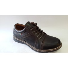 Мужские туфли коричневого цвета. Украина галиос