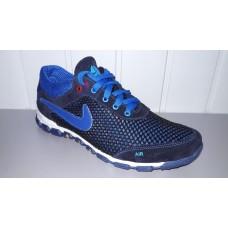 Мужские Nike летние кроссовки синего цвета. Украина 3004 син