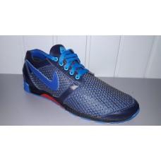 Мужские кроссовки летние - сетка Nike. Украина 3008 син