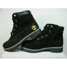 Подростковые ботинки Timberland черного цвета Украина