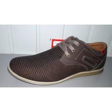 Туфли мужские летние коричневого цвета. Харьков к-13