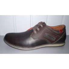 Мужские кожаные туфли коричневого цвета. Харьков к-10