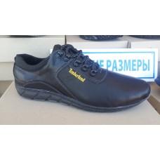 Кожаные кроссовки Timberland большие размеры 46-50р. м-28 ч/к