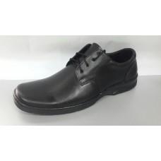Мужские кожаные туфли на шнурках код 8802.  Харьков
