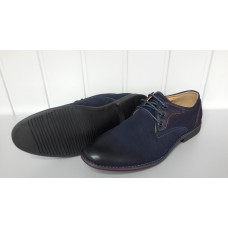 Мужские туфли синего цвета. Украина 6565