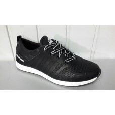 Мужские кожаные кроссовки adidas. Украина ж-333