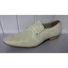 Мужские летние туфли TJTJ из натуральной кожи. Польша 15690