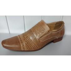 Мужские летние туфли TJTJ из натуральной кожи. Польша 87100