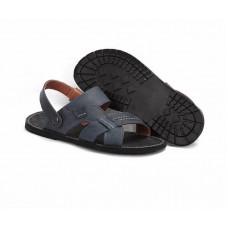 Мужские сандалии-трансформер кожаные. Украина 7801