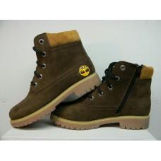 Подростковые ботинки Timberland коричневого цвета Украина