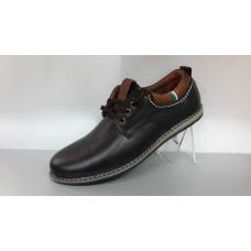 Мужские кожаные туфли на шнурках. Харьков ст-01