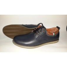 Мужские кожаные туфли на шнурках. Харьков ст-03
