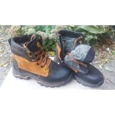 Подростковые зимние ботинки Timberland из натуральной кожи. Украина
