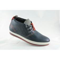 Стильные мужские ботинки Левис зимние синие. 3401/1