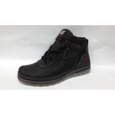 Зимние мужские ботинки Харьков 7531 черные
