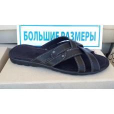 Шлепки мужские кожаные большие размеры 46-50. Украина