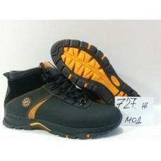 Зимние мужские кожаные ботинки. Харьков 727 ж