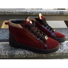 Женские замшевые ботинки Philippe Plein Украина