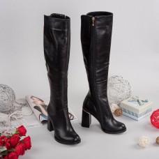 Женские кожаные сапоги. Украина