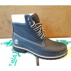 Ботинки женские кожаные зимние Timberland. 2624