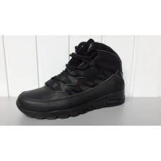 Зимние мужские кожаные ботинки Джордан. Харьков 5303