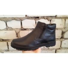 Зимние мужские кожаные ботинки. Харьков 5305