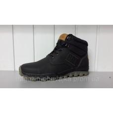 Зимние мужские кожаные ботинки Caterpillar. Харьков