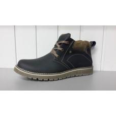 Зимние мужские кожаные ботинки. Харьков 5311