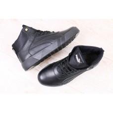 Зимние мужские кожаные ботинки Puma. Харьков 5325
