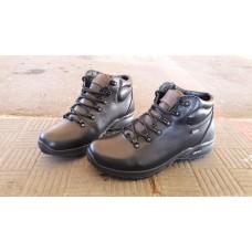 Зимние мужские кожаные ботинки на меху. Харьков 5327