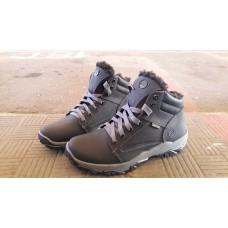 Зимние мужские кожаные ботинки на меху Timberland. Харьков 5326
