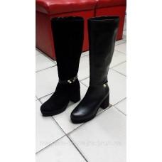 Женские зимние кожаные сапоги. Украина
