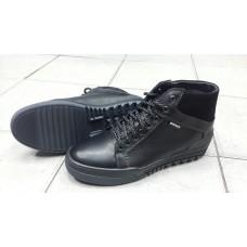 Зимние мужские кожаные ботинки Bosser. 5332