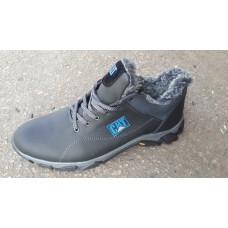 Зимние мужские ботинки САТ большие размеры 46-50. Украина 1349