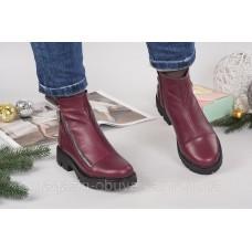 Ботинки кожаные зимние BASCON. Украина