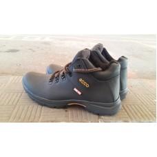 Зимние мужские кожаные ботинки на меху Ecco. Харьков 5329