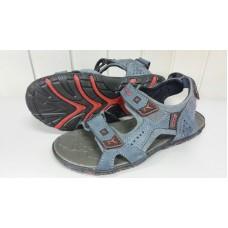 Мужские сандалии ECCO из натурального нубука. Украина 84 синий