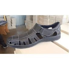 Сандалии мужские кожаные большие размеры 46-49. Украина 8132