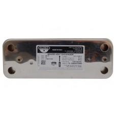 Теплообменник вторичный, пластинчатый Zilmet для Baxi. 10 пластин. 17B2071000