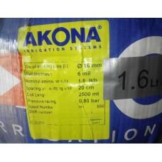 Капельная лента AKONA 20 см (2500 м) № LA20/2500