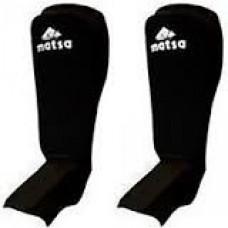 Защита для ног (голень+стопа) Х-б+эластан  (р-р XL, черный)