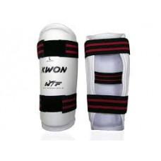 Защита для рук (предплечья) PU WTF) ( белый, крепление на липучках)