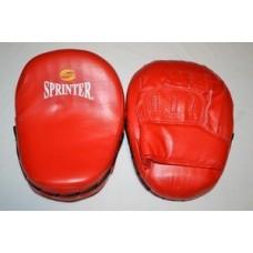 """Лапа боксёрская """"Sprinter"""". Гнутая (кож/зам)"""